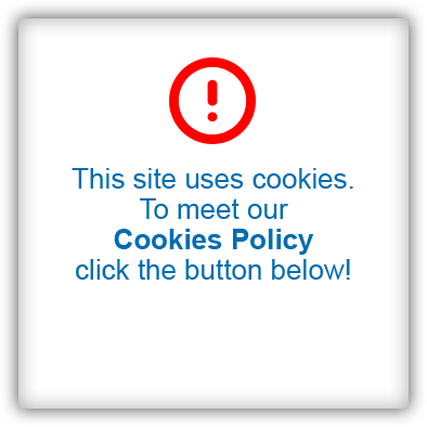 This site uses cookies. To meet our Cookies Policy click the button below!